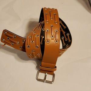 Leather belt 38